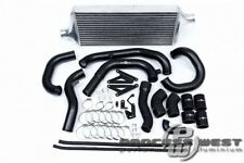 PROCESS WEST Front Mount Intercooler Kit for Subaru 15-16 VA STI-Silver