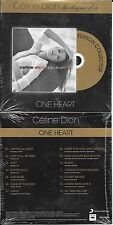 "CD CARDSLEEVE CÉLINE DION ONE HEART ""LES DISQUES D'OR"" 2014 FRANCE NEUF SCELLE"