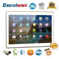 "10"" 16GB WiFi+3G Tableta Tablet PC Android 5.1 Dual SIM Smartphone 2*Cámara OTG"