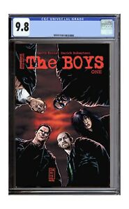 The Boys 1 Dynamite Re-release CGC 9.8 Preorder