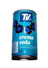 Vintage Tv Cream Creme Soda Pull Tab Top Soda Pop Can Ex Coke Pepsi Beer Ofrr