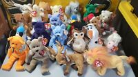 Lot of 37 Retired Ty Beanie Babies w/ Tush Tags..Errors?? 1993-2014..SEE LIST