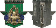 17° Régiment de Génie Parachutiste, Cie d'Appui, merlon émaillé, Fraisse (9257)