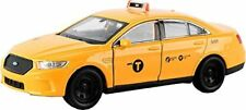 Welly 1:36 Scale New York City Taxi Cab 2016 Ford Fusion Diecast Model