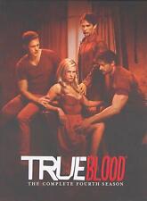 True Blood Complete Season Series 4 TV Show DVD Box Set NEW Anna Paquin Vampires