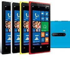 Teléfonos móviles libres rojos con conexión 3G
