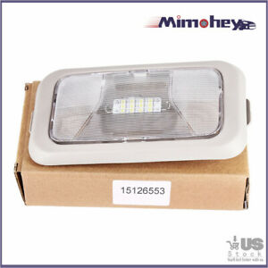 Fits 2004-2008 CHEVROLET COLORADO GMC CANYON DOME LIGHT LENS W/HOUSING 15126553