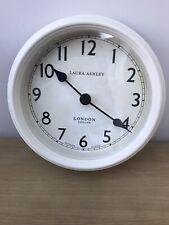 Laura Ashley petite Cream gallery Clock