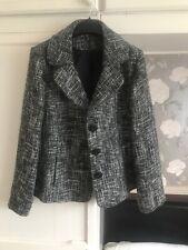 Grey Tweed Like Coat 18