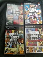 Grand Theft Auto III - Vice City - San Andreas - Liberty City PS2