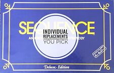 Sequence Deluxe Edition Game Replacement Parts / Pieces - You Choose