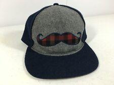 Mustache Snapback Cap Hat