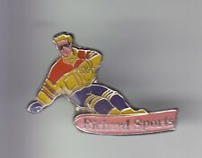 RARE PINS PIN'S .. SPORT HIVER SKI SKIING SNOWBOARD MONOSKI RICHARD CHATEL 74~C7