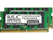 Black Diamond Memory 32GB (2 x 16GB) 260-Pin DDR4 SO-DIMM ECC Unbuffered DDR4 21