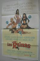 Filmplakat,LAS REIMAS, LE FATE,CAPUCINE,CLAIDIA CARDINALE,JEAN SOREL#49