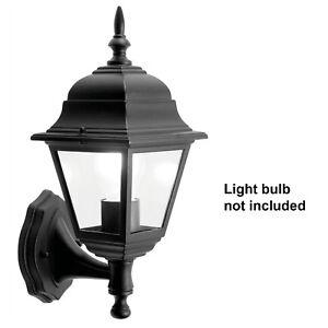 Traditional Garden Wall Lights / Outdoor Lanterns. Motion Sensor / LED optionen