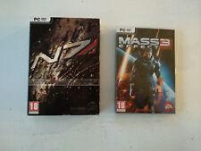 Lot Pack Mass effect 2 collector's edition (steelbook...) + mass effect 3 PC FR