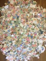 5000 + GB Commonwealth Stamp Collection QV - QE Unchecked Off Paper