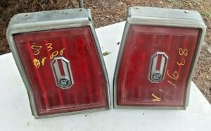 81-84 Pontiac Grand Prix rear tail light lamp set left right passenger driver OE