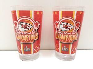 2 - Kansas City Chiefs Super Bowl LIV Champions 16oz Digital Pint Glass