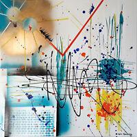 GOLD Toile Abstraite Originale de Sophie Queuniez, cotée Akoun/Artprice