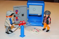 Playmobil 3161 caja fuerte ladrones strong box police