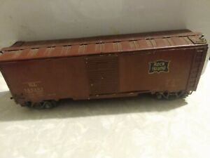 Vintage Accucraft Train Freight Car, O Scale, Metal And Wood