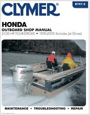 CLYMER HONDA OUTBOARD JET DRIVES 2-130 HP 4 STROKE REPAIR SERVICE MANUAL '76-'05