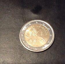 RARE ITALIA 2 EURO Moneta commemorativa 2015-WORLD EXPO MILANO. buone condizioni