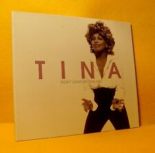 MAXI Single CD Tina Turner Don't Leave Me This Way 1 TR 2000 Pop Rock RARE PROMO