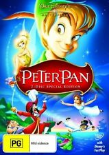 Peter Pan (DVD, 2007) Disney = Special Ed = New Sealed DVD R4
