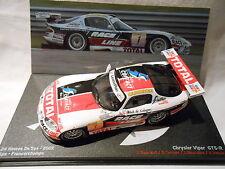 Chrysler Viper GTS-R winner des 24 heures de SPA FRANCORCHAMPS 2002
