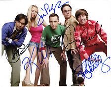 REPRINT - Cast BIG BANG THEORY autograph signed photo