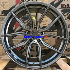 XXR 559 19 +40 Chromium Black Staggered Wheels Rims 5x4.5 05 11 Ford Mustang GT