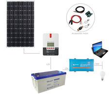 Kit panneau solaire 300W 12V 230V pour site isolé ou camping car (300 watts)