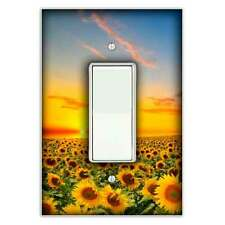 Sunflower Sunset Decorative Rocker / Decora Light Switch Cover - Switch Plate