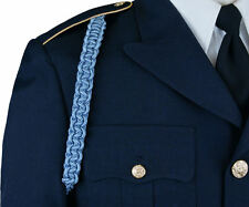 U.S. Army Infantry Blue Cord - NEW - Military Dress Uniform Shoulder Cord