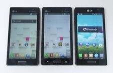 Lot of 3 Working LG Optimus L9 MS769 / P769 Android Smartphones