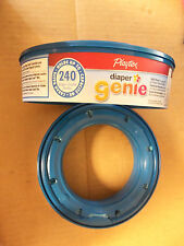 New Playtex Diaper Genie Lot of 2 holds 240 Diapers Refill container