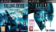 Aliens Colonial Marines Extermination Edition & falling skies   new&sealed