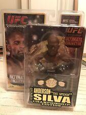 Anderson Silva Round 5 UFC Championship Edition Figure glove poster belt
