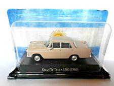 DIE CAST - SIAM DI TELLA 1500 (1960) - AUTOS INOLVIDABLES SALVAT SCALA 1/43