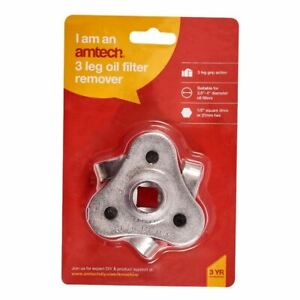 Amtech Oil Filter Wrench Removal Tool 2 Way Adjustment From 63 To 102mm