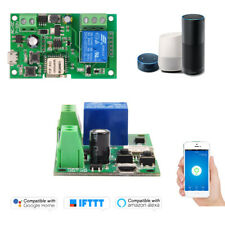 Sonoff DC5V 12 V 24 V 32 V Wifi Schalter Drahtloses Relaismodul Smart Home E6G4