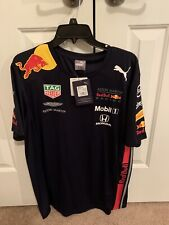 Formula 1 Official Red Bull Team Shirt Size Large Verstappen Gasley Albon