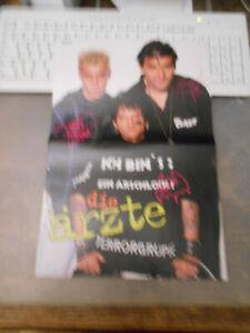 Bravo ++ Poster ++ Die Ärzte + Jimmy Kelly - A-ha ++ TOP ++ 322 ++