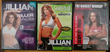 Jillian Michels Shred-it, Killer Abs, Shape up Front