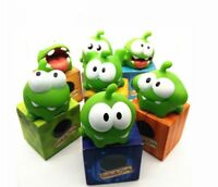 Monster Toy Figure Random Style Cut the Rope OM NOM Candy Gulping With Soun Gift