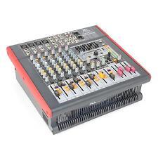 NEU: POWER DYNAMICS MIXER 8 KANAL DJ MISCHPULT AMP USB DSP MP3 AUX EQ FX