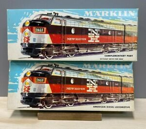 Marklin  3062.2 & 4062.2  F7 A-A  New Haven w/t Digital 6090 and Motor Truck